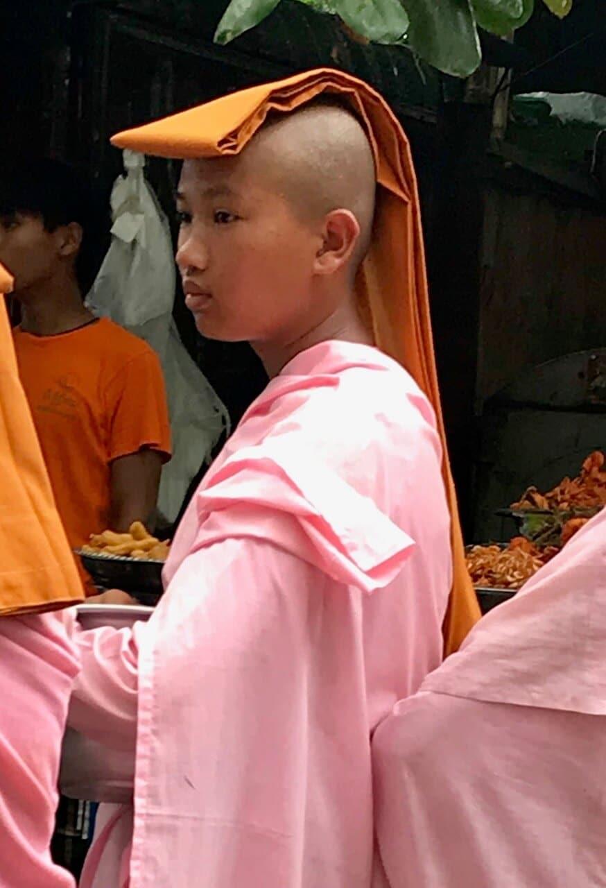 Birma i mnich