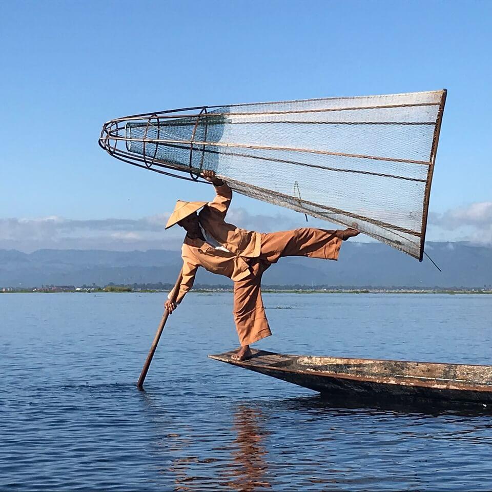 Birma to kraj rybaków
