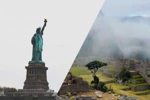 Ameryka północna i południowa